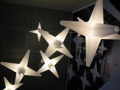 Star light - large - medium - small   1 x 100W/E27  compact fluo or LED http://www.kunstlicht.nl/kunstlicht_starlight.html