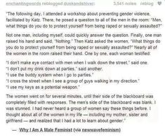#YesAllWomen Men can be, and are, feminists too!