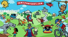 Fun things to do in Connecticut with kids - FamilyDaysOut.com - Family places to visit CT for children