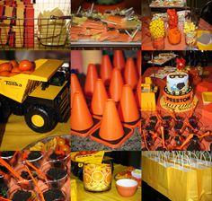 Preston's Construction Birthday Party #trucks #ConstructionParty #LittleBoyBirthday