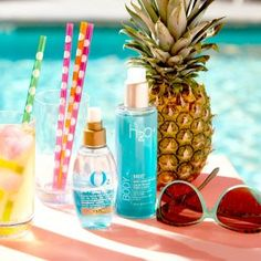 Pool vibes. Cool vibes. Keep hair & skin hydrated with water-infused products.