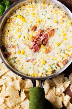 Look no more for the perfect dip for any gathering. This Bacon, Cheese, and Jalapeno Corn Dip will leave your guests begging you to make more immediately! Serve with chips or a platter of vegetables, this dip will disappear before your eyes!