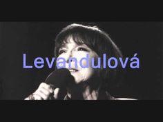Hana Hegerova a Petr Hapka - Levandulova - YouTube Petra, Youtube, God, Youtubers, Youtube Movies