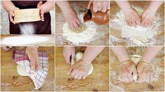 Umbricelli al pecorino preparazione passo passo