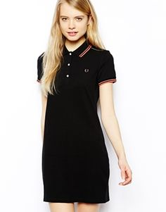 Image 1 of Fred Perry Polo Dress