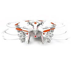 KINGEAR CVT02 6 Axis Super Lightweight 4 Channel 24GHz RC Quadcopter Drone with HD 20M CameraWhiteOrange >>> Check this awesome product by going to the link at the image.Note:It is affiliate link to Amazon. #followers