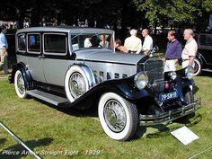 1929 Pierce Arrow Straight Eight Limousine