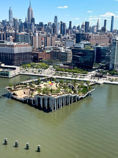 Located on the edge of Manhattan's Meatpacking District, close to the southern end of the High Line and the Whitney Museum, Little Island officially opens to the public on 21 May 2021 and can be visited for free with timed tickets. The photos were taken for WSJ. Magazine to accompany an interview with fashion designer Diane von Furstenberg and her husband, businessman Barry Diller, who funded the project. Environmental Architecture, Art And Architecture, Great Places, Places To See, Thomas Heatherwick, Ontario Place, New Urbanism, Public Space Design, Little Island