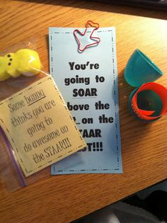 Create●Share●Inspire: easy and cheap test motivation goodies Capturing Kids Hearts, Teacher Problems, Student Motivation, School Organization, Student Gifts, Kids Learning, Teaching, Staar Test, Standardized Test