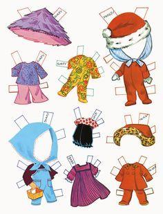 (⑅ ॣ•͈ᴗ•͈ ॣ)♡                                                             ✄ Liddle Kiddles Paper Dolls