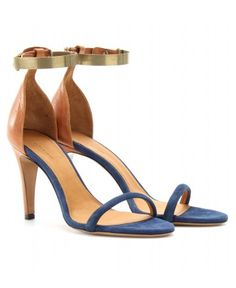 Wanted <3 Sandales en cuir et daim ADELE - Isabel Marant