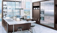 Contemporary | Photo Gallery | Kitchen Studio LA | Los Angeles Dealer of Downsview Kitchens and Fine Cabinetry