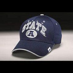 07730865def Utah State Hat - Navy Adjustable By Zephyr -Not sure how I look in hats