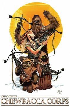 The Chewbacca Corps