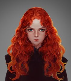 ArtStation - old project, snod snow Character Design Girl, Character Design Inspiration, Character Art, Character Ideas, Redhead Characters, Girls Characters, Fantasy Characters, Redhead Art, Hair In The Wind