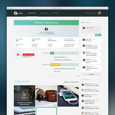 Design web app for disruptive Danish start-up by TheConcept