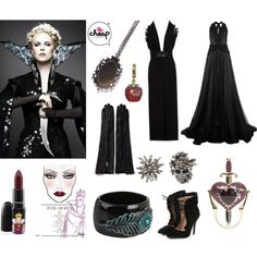 Halloween Costumes - Evil Queen by cheapindustry, via Polyvore