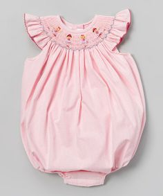 Another great find on #zulily! Pink Ballerina Bubble Bodysuit - Infant by Silly Goose #zulilyfinds