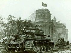 Russian tanks, Berlin 1945