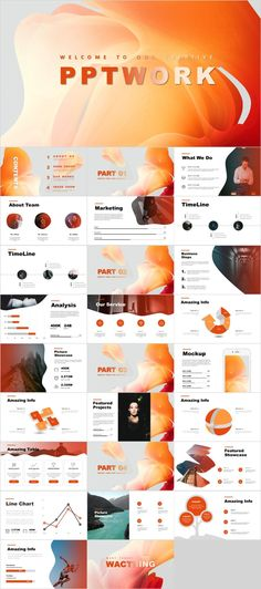 minimal powerpoint templates layout presentation templates