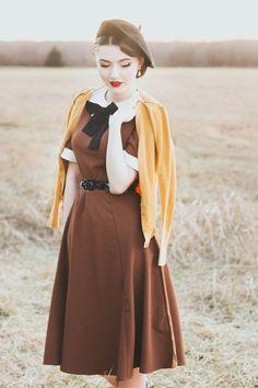 Madison Steward- Unique Vintage dress