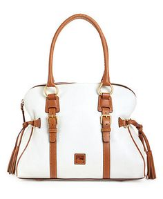 Dooney & Bourke Handbag, Florentine Domed Buckle Satchel - Dooney & Bourke - Handbags & Accessories - Macy's