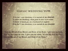 Gaelic Blood Vows