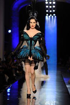 Jean Paul Gaultier : Runway - Paris Fashion Week - Haute Couture S/S 2014