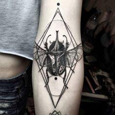 Stunning Graphical Tattoos ; Fubiz Media
