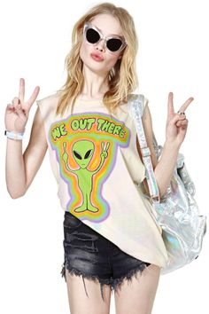 UNIF We Out There Tank #festivalfashion