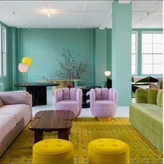 Add some colors to your interiors