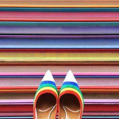 Chasing Rainbows  from @Aquazzura's closet #aquazzura