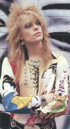 """Michael Monroe The Best Old Poster 24"""""""