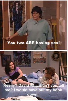 Roseanne, aka Big Bang Theory, the Younger Years