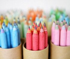 Eco-friendly recycled paper pencils (made from 100% recycled paper). #eco-friendlyproducts