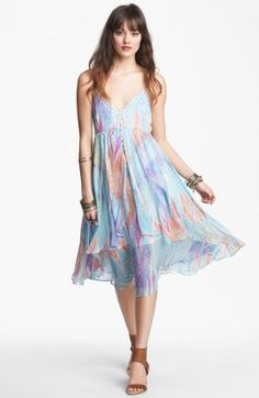 FREE PEOPLE Sea Gypsy Dress White Combo $149.99 SHIPPED FREE ~~ALSO FREE LOCAL DELIVERY NOW AVAILABLE WITHIN 10 MILES OF SANTA MONICA, CALIFORNIA