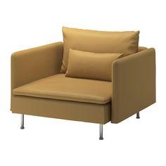 SÖDERHAMN Chair - Samsta dark yellow - IKEA