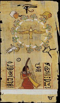 XXI. The World: The Egyptian Tarot