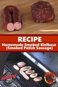 Homemade Smoked Kielbasa Recipe (Smoked Polish Sausage)