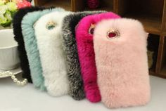 NEW-Fuzzy-Warm-Plush-Hard-Case-Cover-Skin-for-iPhone-6-6S-PLUS