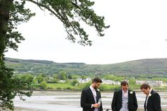 Ali and David's Sheen Falls wedding adventure is the love story of when an Irish lady meets and falls in love with an English gentleman, there is only one place they will wed, Ireland of course and thankfully for us, the West Coast of Ireland. True Love Stories, Love Story, West Coast Of Ireland, 2015 Trends, Groom Attire, Grooms, Fall Wedding, Real Weddings, Ali
