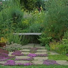 Affordable And Effective Cottage Garden Designing Methods For Your Home Your home is your world, and much like the world around us, looks are important. Garden Paths, Beautiful Gardens, Garden Design, Cottage Garden, Outdoor Plants, Backyard Garden, Home And Garden, Natural Garden, Backyard