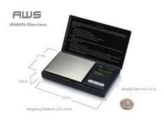 Consumer-Grade High Accuracy Scale | This inexpensive AWS Digital Pocket Scale is ideal for working with technical ingredients, or any other ingredient that needs to be measured with high accuracy (0.01 g) to get consistent results.