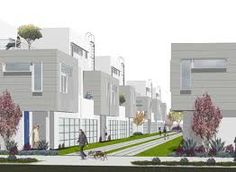 row house complex - Google Search