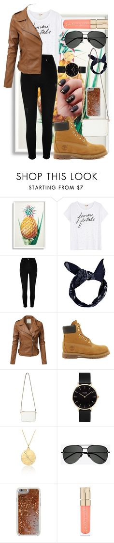 """""""Untitled #209"""" by anna-bigsis ❤ liked on Polyvore featuring Frontgate, Sundry, River Island, Boohoo, Timberland, Miss Selfridge, CLUSE, BROOKE GREGSON, Yves Saint Laurent and Agent 18"""