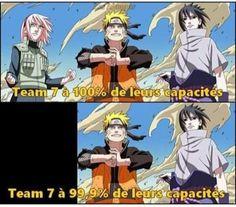 Sakura, j'ai toujours su qu'elle servait à rien. À pars pleurer la disparition de Sasuke Otaku Anime, Manga Anime, Anime Naruto, Anime Meme, Naruto Shippuden, Boruto, Funny Menes, Laughing Funny, Naruto Team 7