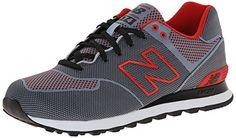 New Balance ML 574 ALK Schuhe grey-red-black - 45 - http://on-line-kaufen.de/new-balance/45-eu-new-balance-574-unisex-erwachsene-sneakers-3