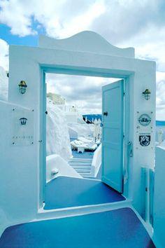 Santorini | Katikies Door | Greece