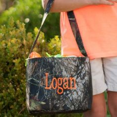 Woods Easter Tote