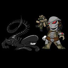 HeroChan — Lil Alien Vs Predator - by Rob Acosta Website ||...